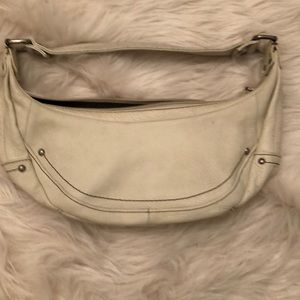 Kenneth Cole reaction white/ Cream BoHo bag.